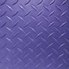 Traction mat sheet / Carpet / Pads with adhesive *Purple Diamond Plate*