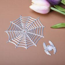 Spider Cutting Dies Stencil Scrapbooking Album Paper Card Embossing Gift Craft