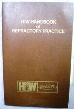 New listing HARBISON-WALKER Dresser Refractories ASBESTOS Metalkase Firebrick 1979 Catalog