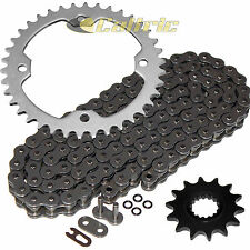 O-Ring Drive Chain & Sprockets Kit Fits YAMAHA YFZ450R YFZ450X 2009-2016