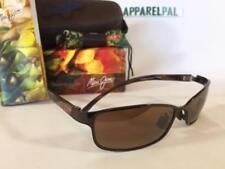 New Maui Jim SHORELINE Polarized Sunglasses 114-25 Copper/HCL Bronze Rare