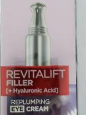 L'Oreal Paris Revitalift Filler + Hyaluronic Acid Replumping Eye Cream 15ml