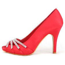 Women's Satin Stiletto Heels