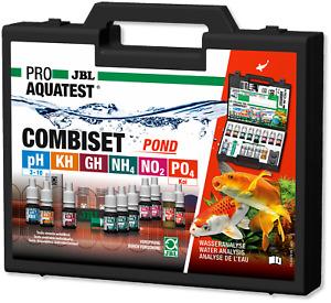 JBL Test Combi Set Pond Wassertests GartenteicheTeich Aquarium Wasser Analyse