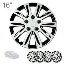 """FOR MAZDA NEW 16"""" ABS SILVER RIM LUG STEEL WHEEL HUBCAPS COVER 547"""