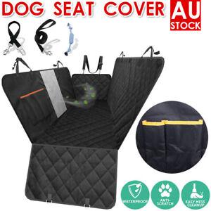 Premium Waterproof Pet Cat Dog Back Car Seat Cover Hammock NonSlip Protector Mat