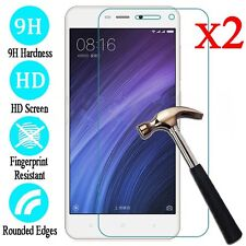 2Pcs Premium Tempered Glass Film Screen Protector Cover For Xiaomi Redmi Phone