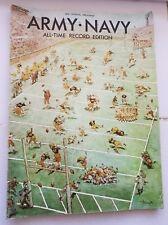 Vtg 1970 Army VS Navy Football Program All time Record Edition & 1986 LOT of 2