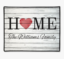 Personalized Home Family Doormat