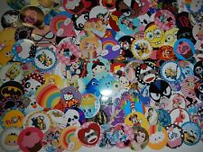 "139  Huge Characters 1"" inch  Precut Bottle-Cap Images Bows Scrapbooking Mix Lot"