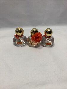 Lot Of 3 NEW Coach Poppy Eau De Parfum Perfume Miniature mini 0.17 oz / 5 ml L1