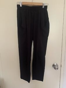 Country Road Black High-Waisted Slouchy Pants Size 6