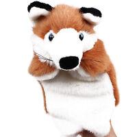 Cute Animal Wildlife Hand Glove Puppet Soft Plush Puppets Kids Childrens Toys