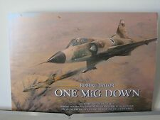 One Mig Down IAF Mirages 101 Squadron Robert Taylor Aviation Art Brochure