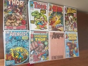 Avengers Thor & Iron Man Comic Lot (24)  Silver Age To Modern With Venom...
