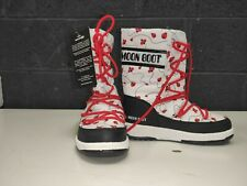 Girls MoonBoot Quilted Ladybug - Size 12.5