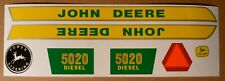 DECAL SET for 5020 John Deere Toy Pedal Tractor  JP118
