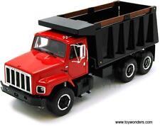 Huge New Black & Red International Harvester Dump Trucks - First Gear