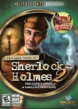 THE LOST CASES OF SHERLOCK HOLMES 2 Hidden Object PC Game NEW + 2 BONUS Games!