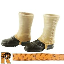 WWII Infantry - Boots (for Feet)- 1/6 Scale - SOW Action Figures