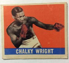 1948 Leaf Boxing CARD #57 CHALKY WRIGHT