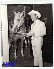 Roy Rogers Trigger Photo from Original Negative