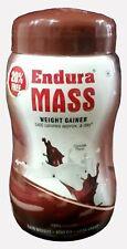 Endura Mass Weight Gainer Chocolate Flavor Powder Free Shipping GJ