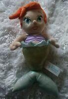 Disney Parks Disney's Babies  Ariel The Little Mermaid  Plush Doll