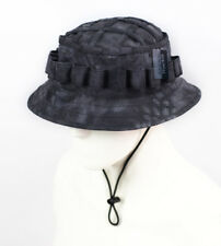 2d14394e72c Tactical Boonie Hat Military Camo Cap Sniper Ghillie Adjustable Jungle Bush  Hat