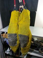Firefighter Turnout Bunker Pants Globe 38x31 Vintage Halloween Costume Need Clea