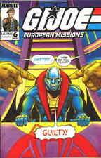 G.I Joe European Missions GI #6 Marvel Comics UK November 1988 NM Near Mint