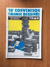 18 e CONVENTION DE LA BANDE DESSINEE grande halle du parc de la Villett