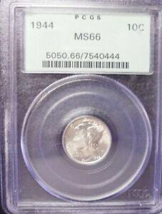 1944-P  Mercury Dime PCGS MS66 OGH