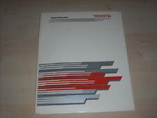 56454) Toyota Land Cruiser Pressemappe 01/1988