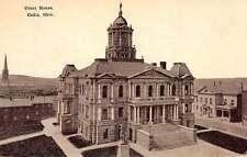 Cadiz Ohio Court House Antique Postcard J46086