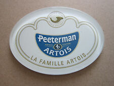 Peeterman Artois Plastic Oval T Bar Pump Badge