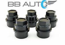 5 NEW BLACK LUG NUT COVERS CAPS CHEVROLET GMC C1500 C2500 FULL SIZE TRUCK