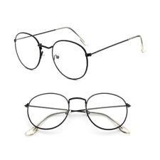 Round Vintage Eyeglass Metal Frame Glasses Men Women New Spectacles Clear Lens