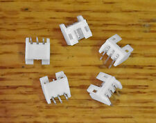 Mini 3 Pin Male Connector Housing 90 Degree Right Angle 2.0mm Pitch 5 Pack