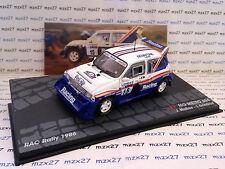 VOITURE RALLYE MG METRO 6 R4  RALLYE RAC 1986 MCRAE 1/43 EME IXO ALTAYA