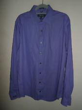 "Medium KENNETH COLE Mens Shirt Long Sleeve Button Cuff Size Medium M 15.5"""