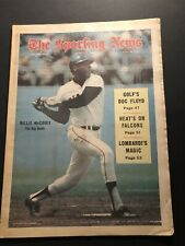 1969 Sporting News SAN FRANCISCO Giants WILLIE McCOVEY No Label VINCE LOMBARDI