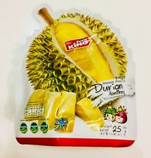 DURIAN Fruit KING Dried Snack Natural Healthy Premium Thailand HALAL 25 g KOSHER