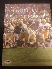 Bart Starr Packers Signed Magazine 8x10 Photo SB I II Champs ~ PSA/DNA Auth COA