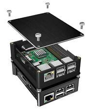 RaidSonic ICY Box Protectora HDD Recinto Raspberry Pi 2 + 3 Aluminio Negro