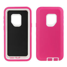 Samsung Galaxy S9 Plus Case Cover (Belt Clip fits Otterbox Defender) 3 Layer