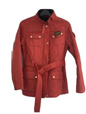 red barbour jacket 16