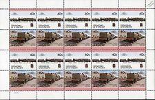 1927 LMS BEYER GARRATT Class 4P No.4997 2-6-0+0-6-2 Train 20-Stamp Sheet