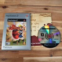 Jak and Daxter Platinum (Sony PlayStation 2, 2002) Game Complete With Manual