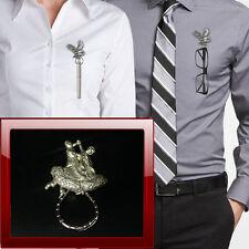 Tango Dance Crystal Brooch Present Christmas By Katz Dancewear Gifts JE-12